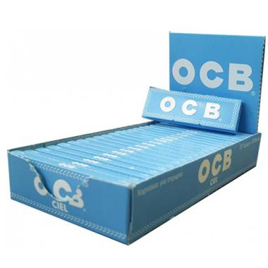 Κουτί με 25 Χαρτάκια στριφτού OCB CIEL