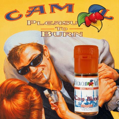 2761 - Άρωμα Flavour Art CAM BLEND 10ml (camel καπνικό)