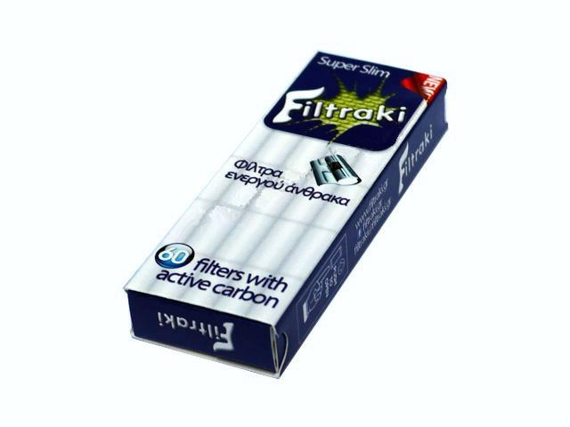 2837 - Filtraki ενεργού άνθρακα 60 super slim 5.69mm