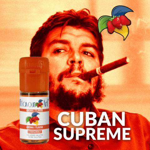 2840 - Άρωμα Flavour Art CUBAN SUPREME 10ml (καπνικό)