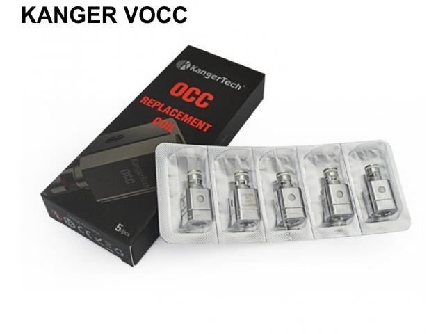 Κεφαλές Subtank OCC για ατμοποιητές Kanger (5 τεμάχια)