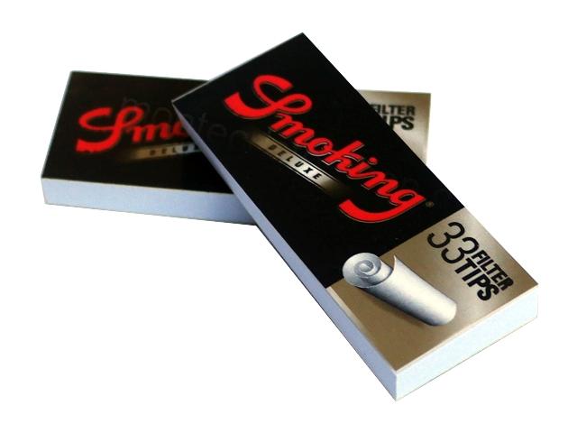 Τζιβάνες Smoking Deluxe φαρδυές 33 filter tips
