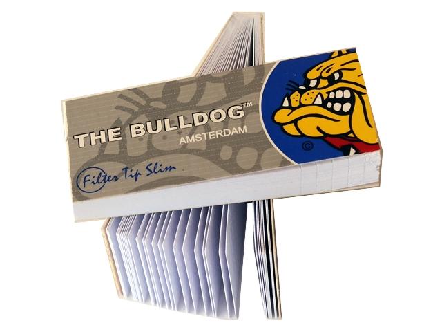 Τζιβάνες THE BULLDOG SILVER Filter Tips