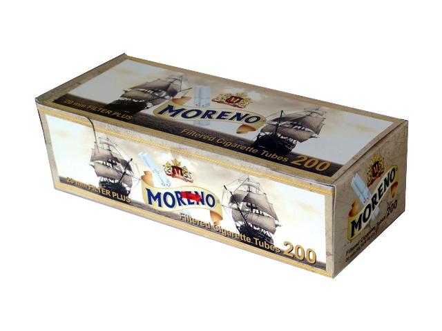 3130 - Άδεια τσιγάρα MORENO 200 με 20mm μακρύ φίλτρο