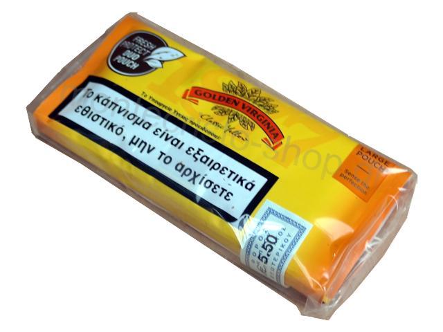 3237 - Καπνός στριφτού Golden Virginia DUO FRESH Classic Yellow κίτρινος 30γρ