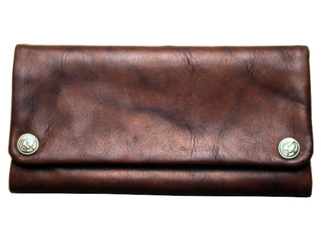 3265 - Δερμάτινη καπνοθήκη Tobacco Pouch ORIGINAL KAVATZA TP17 Havana (καφέ)