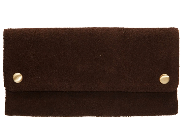 3269 - Δερμάτινη καπνοθήκη Tobacco Pouch ORIGINAL KAVATZA TP04 Brownie