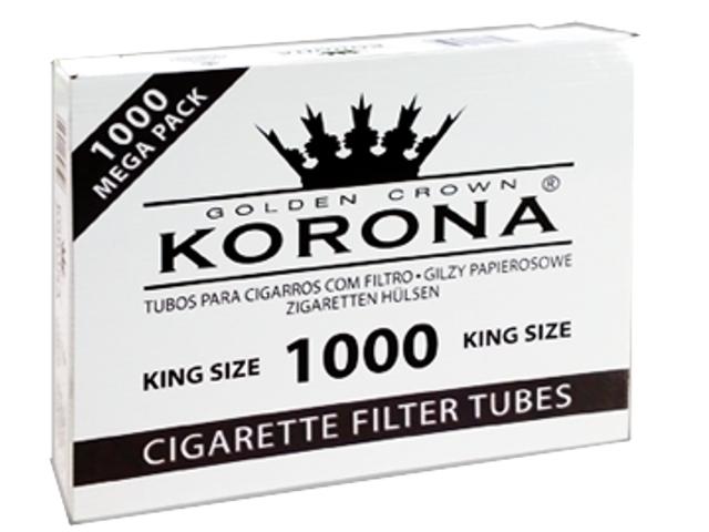 Άδεια τσιγάρα KORONA GOLDEN CROWN KING SIZE 1000