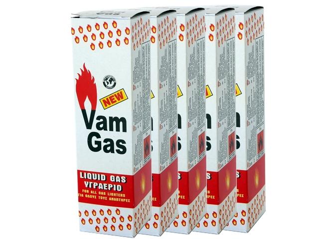 Σετ με 5 αέρια αναπτήρων VAM GAS 240ml