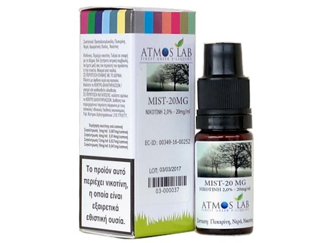 Βάση Atmos Lab Mist Mix Base (VG+νερό 10%) 20mg νικοτίνη 10ml