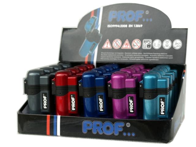 Κουτί με 20 αναπτήρες φλόγιστρο PROF BLUE FLAME CRYSTAL COLOR 40803679