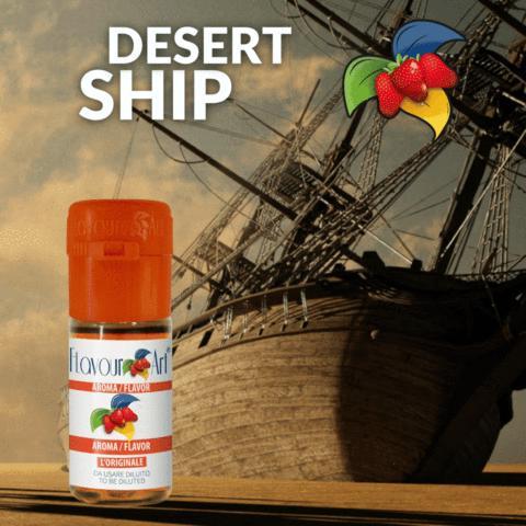 Άρωμα Flavour Art DESERT SHIP BLEND (καπνικό) 10ml