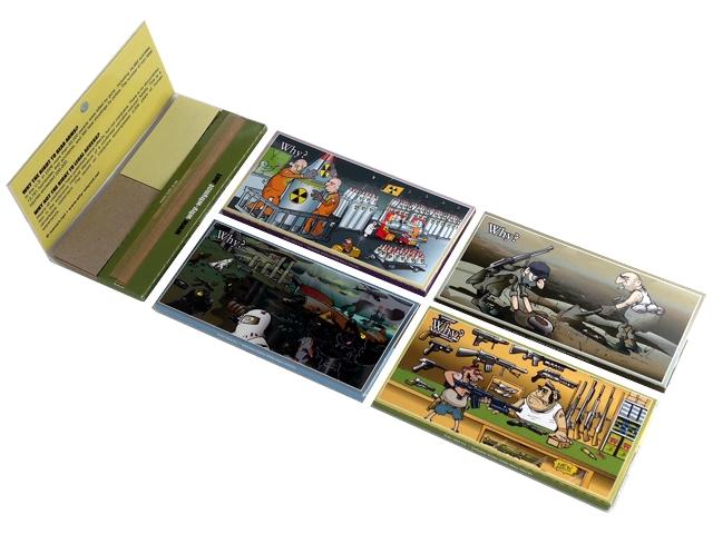 3608 - Χαρτάκια στριφτού WHY WHY NOT MAXI PACK MAGNET King Size + Tips με τζιβάνες