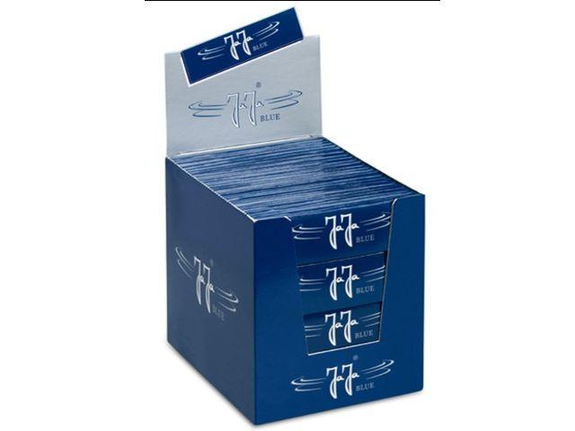 3680 - Κουτί με 100 χαρτάκια στριφτού Jaja BLUE King Size