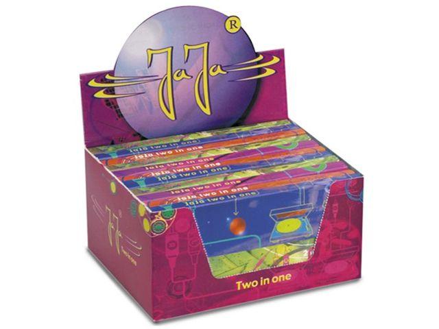 3694 - Κουτί με 22 χαρτάκια στριφτού JaJa Two in One GOLD King Size με τζιβάνες
