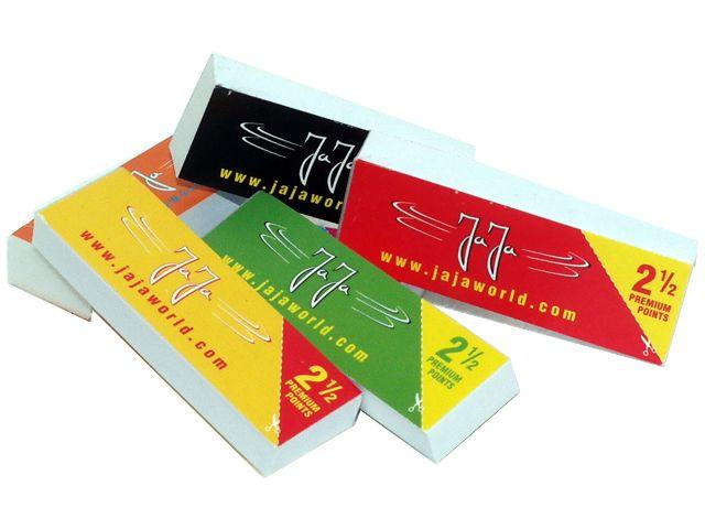 Τζιβάνες στριφτού τσιγάρου JaJa Filtertips booklet regular 2 & 1/2