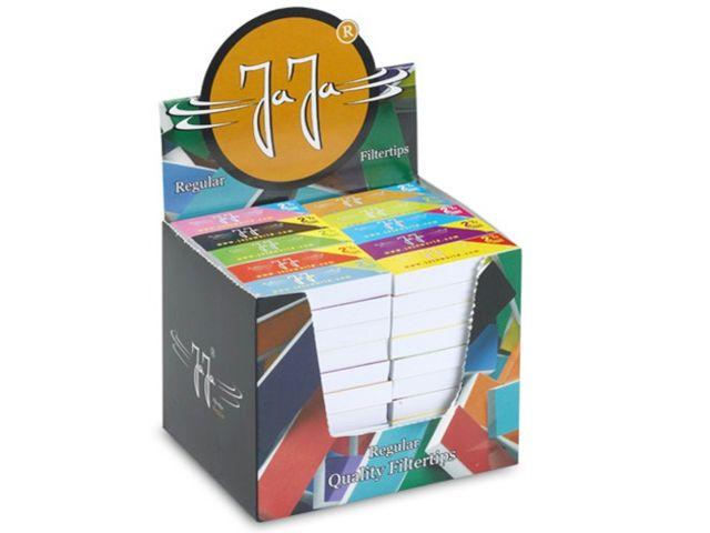 Κουτί με 100 τζιβάνες στριφτού τσιγάρου JaJa Filtertips booklet regular 100 2 & 1/2