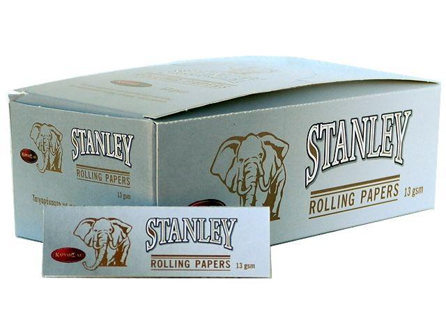 Κουτί με 50 χαρτάκια στριφτού STANLEY ΑΣΗΜΙ 13GSM