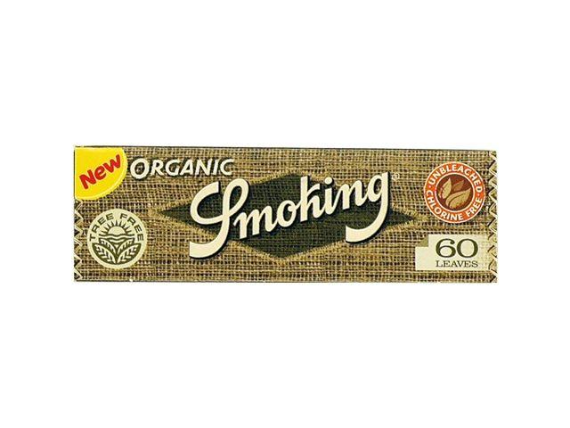 3735 - Χαρτάκια στριφτού Smoking ORGANIC 60 φύλλα
