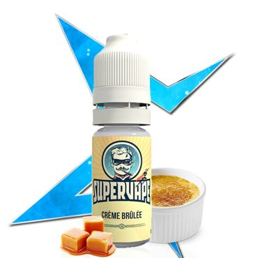 3759 - Άρωμα SuperVape CREME BRULEE Flavour 10ml (κρεμ μπρουλε)