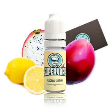 3760 - Άρωμα SuperVape LEMON CACTUS Flavour 10ml (λεμόνι και μεξικάνικος κάκτος) cactus citron