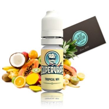 3762 - Άρωμα SuperVape TROPICAL MIX Flavour 10ml (τροπικά φρούτα)