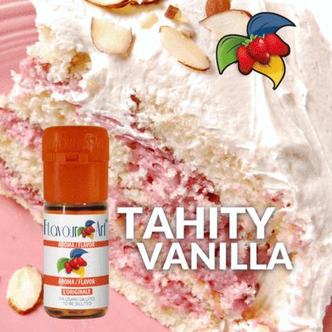 Άρωμα Flavour Art VANILLA TAHITY (βανίλια Ταϊτής) 10ml