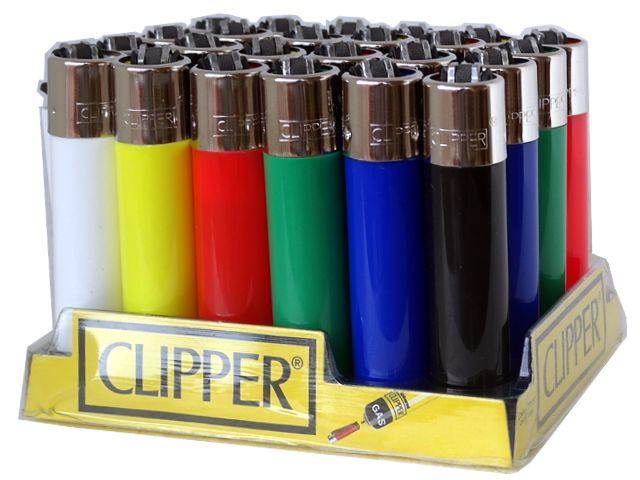 Κουτί με 24 αναπτήρες Clipper CP11 LARGE Colors