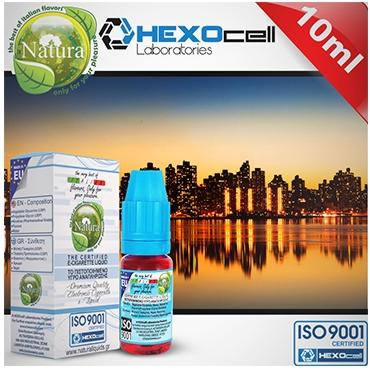 3966 - Υγρό αναπλήρωσης Natura MANHATTAN από την Hexocell (καπνικό) 10 ml