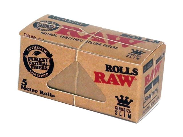 4074 - Ρολό για στριφτό RAW Classic KingSize Slim ακατέργαστο 4.2 Χ 5m