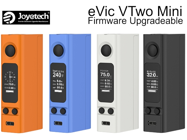 Joyetech eVic VTwo Mini 75w (+ USB + ΘΗΚΗ ΣΙΛΙΚΟΝΗΣ)