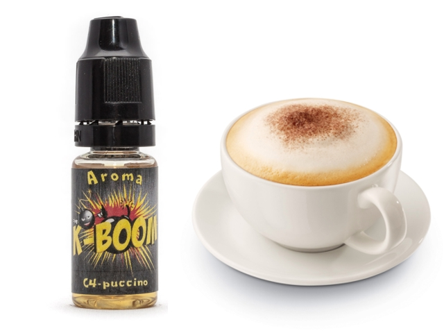 4127 - Άρωμα K-boom flavour C4-PUCCINO 10ml (καπουτσίνο)
