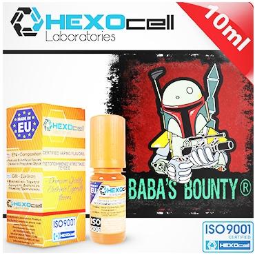 Άρωμα Hexocell BABAS BOUNTY FLAVOUR (καρύδα κρέμα βανίλια) 10ml