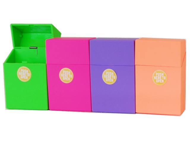 Πλαστική θήκη CHAMP Rubber touch Plastic DL-12 για πακέτο 20 τσιγάρων 40590190 (ανοίγει αυτόματα)