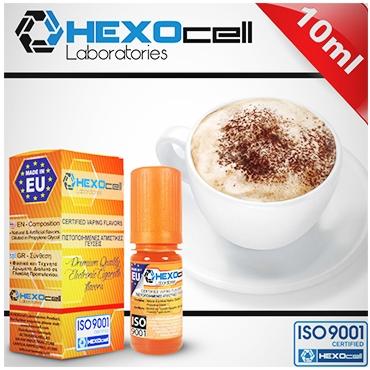 Άρωμα Hexocell CAPPUCCINO FLAVOUR 10ml (καπουτσίνο)