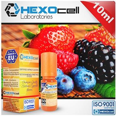 Άρωμα Hexocell FOREST FRUITS FLAVOUR (φρούτα του δάσους) 10ml