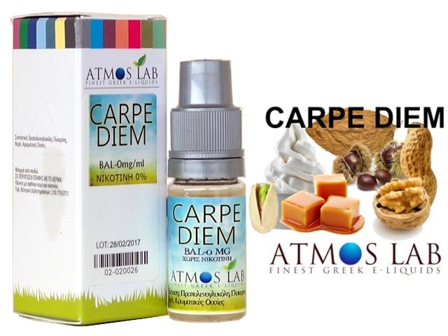 Atmos Lab CARPE DIEM (ξηροί καρποί, κρέμα, καραμέλα, κάστανο, tobacco) 10ml