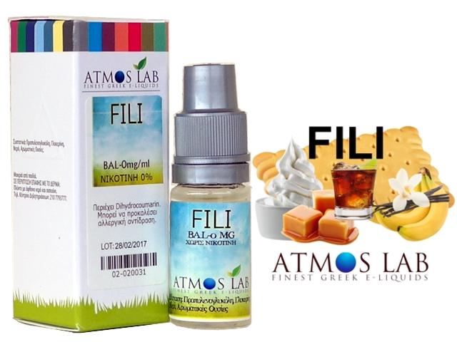 Atmos Lab FILI (μπανάνα, μπισκότο, καραμέλα, ρούμι, μαύρη ζάχαρη, βανίλια) 10ml
