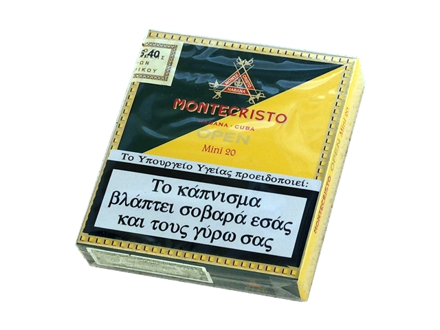 4395 - Cigarillos Montecristo open Mini 20