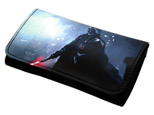 Καπνοθήκη VAROUGLI Darth Vader μεσαίο μέγεθος με latex δερματίνη