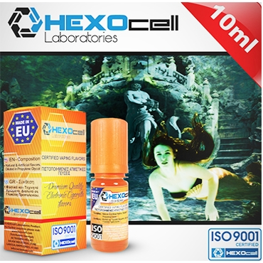4477 - Άρωμα Hexocell LOST ATLANTIS 10ml (καπνός και φρούτα)