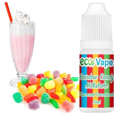4518 - Άρωμα Eco Vape Rainbow Candy Milkshake 10ml (γλυκάκια και milkshake)