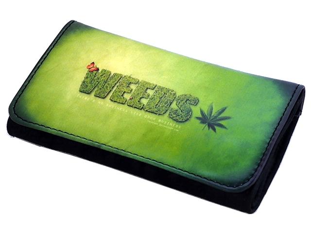Καπνοθήκη VAROUGLI WEEDS ΜΑΡΙΧΟΥΑΝΑ μεσαίο μέγεθος με latex