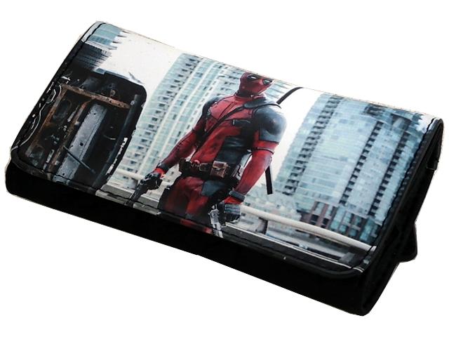 Καπνοθήκη VAROUGLI Deadpool With Two Pistols μεσαίο μέγεθος με latex