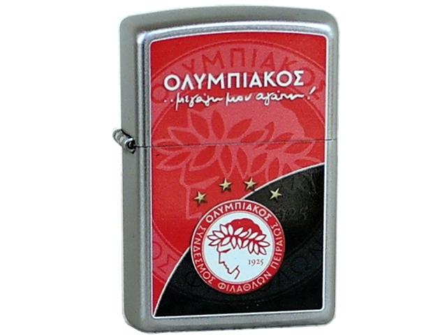 4679 - Αναπτήρας ZIPPO Ολυμπιακός 206 OL307 Μεγάλη μου Αγάπη