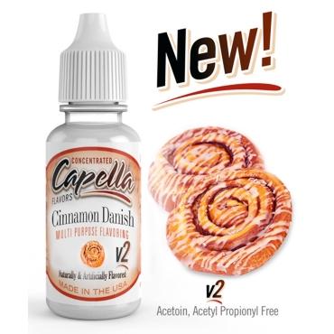 4829 - Άρωμα Capella Cinnamon Danish Swirl v2 13ml (Δανέζικη κανέλα)