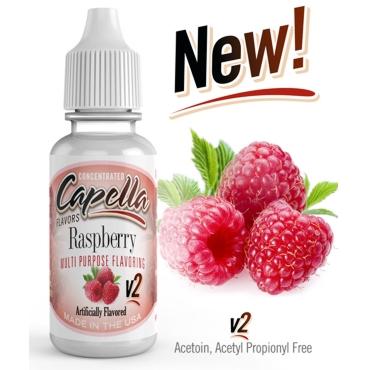 4860 - Άρωμα Capella Raspberry v2 13ml (βατόμουρο)