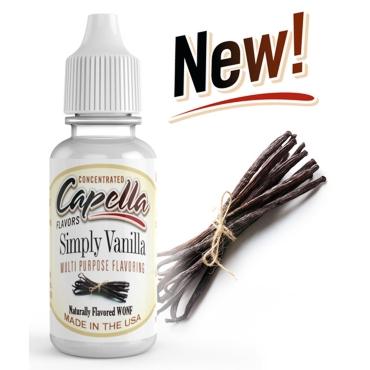 4862 - Άρωμα Capella Simply Vanilla 13ml (βανίλια)