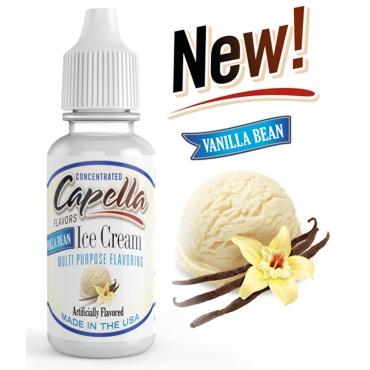 4872 - Άρωμα Capella Vanilla Bean Ice Cream 13ml (βανίλια παγωτό κρέμα)