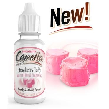 4877 - Άρωμα Capella Strawberry Taffy 13ml (φράουλα & καραμέλες)